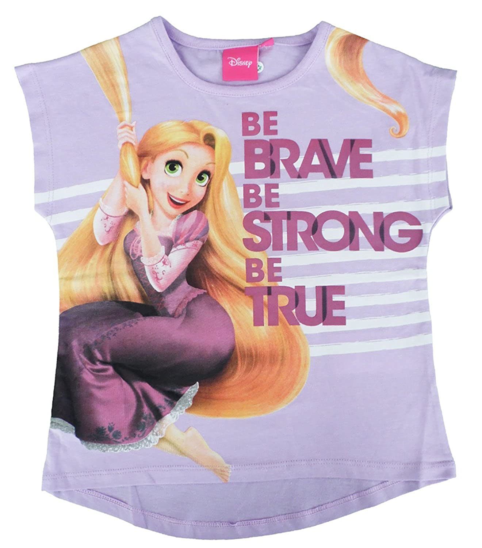 Disney Princess Tangled Rapunzel Manga Corta T Shirt