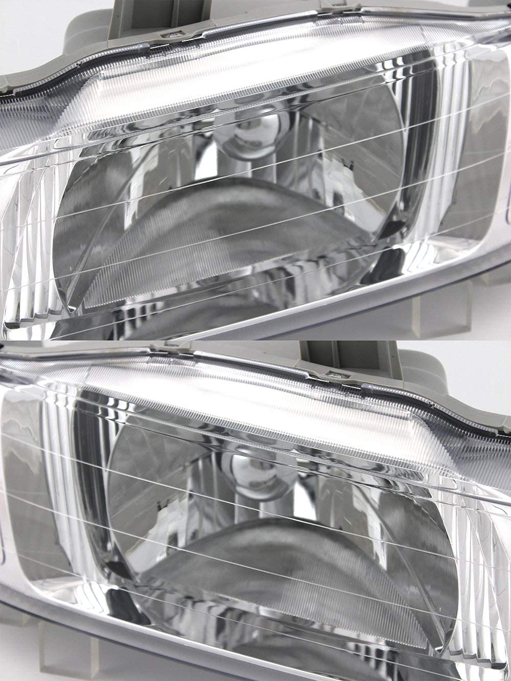 -Black 100W Halogen 6 inch Passenger Side with Install kit 2001 Honda Odyssey Post Mount Spotlight Larson Electronics 1015P9IJOJA