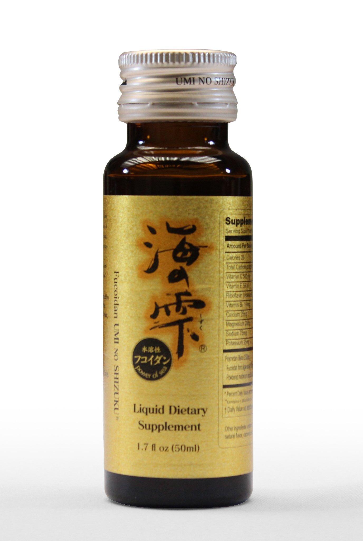 Fucoidan Umi No Shizuku - 30 Liquid Bottles
