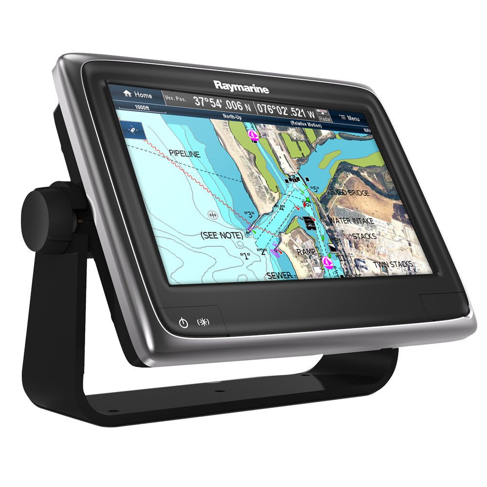 Raymarine E70232-Estadounidense A Series A95 WiFi Touch Pantalla Multifunción (22.9 Cm (9 Pulgadas), Tarjeta C-Map EE.