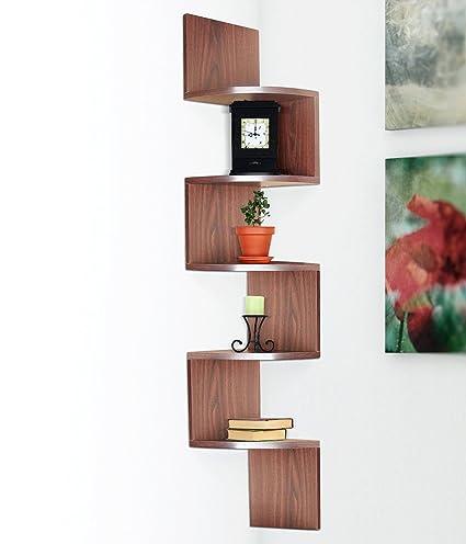 amazon com halter large corner shelf wall mounted corner shelves rh amazon com corner mounted shelves for tv av corner mount shelves