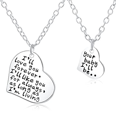 Amazoncom Majesto Inspirational Necklace Pendant Set For Woman