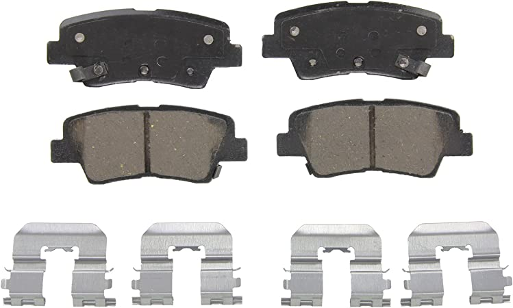 Wagner QuickStop ZD1543 Ceramic Disc Pad Set Includes Pad Installation Hardware Front