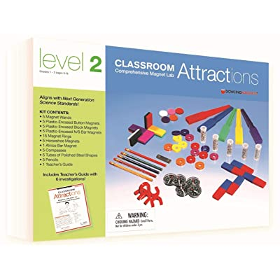 "Dowling Magnets DO-731302 Classroom Level 2 Attractions Kit Grade Kindergarten to 1, 2.38"" Height, 9.6300000000000008"" Wide, 13"" Length(Pack of 96): Industrial & Scientific"