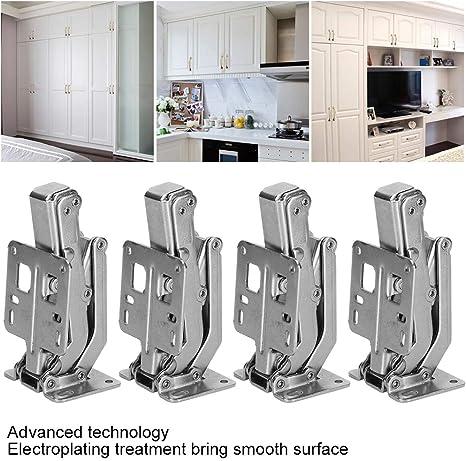 """104mm Cupboard Door Kitchen Cabinet Hinges 180 Degree Easy Fix 4/"""" - Pack 4"""