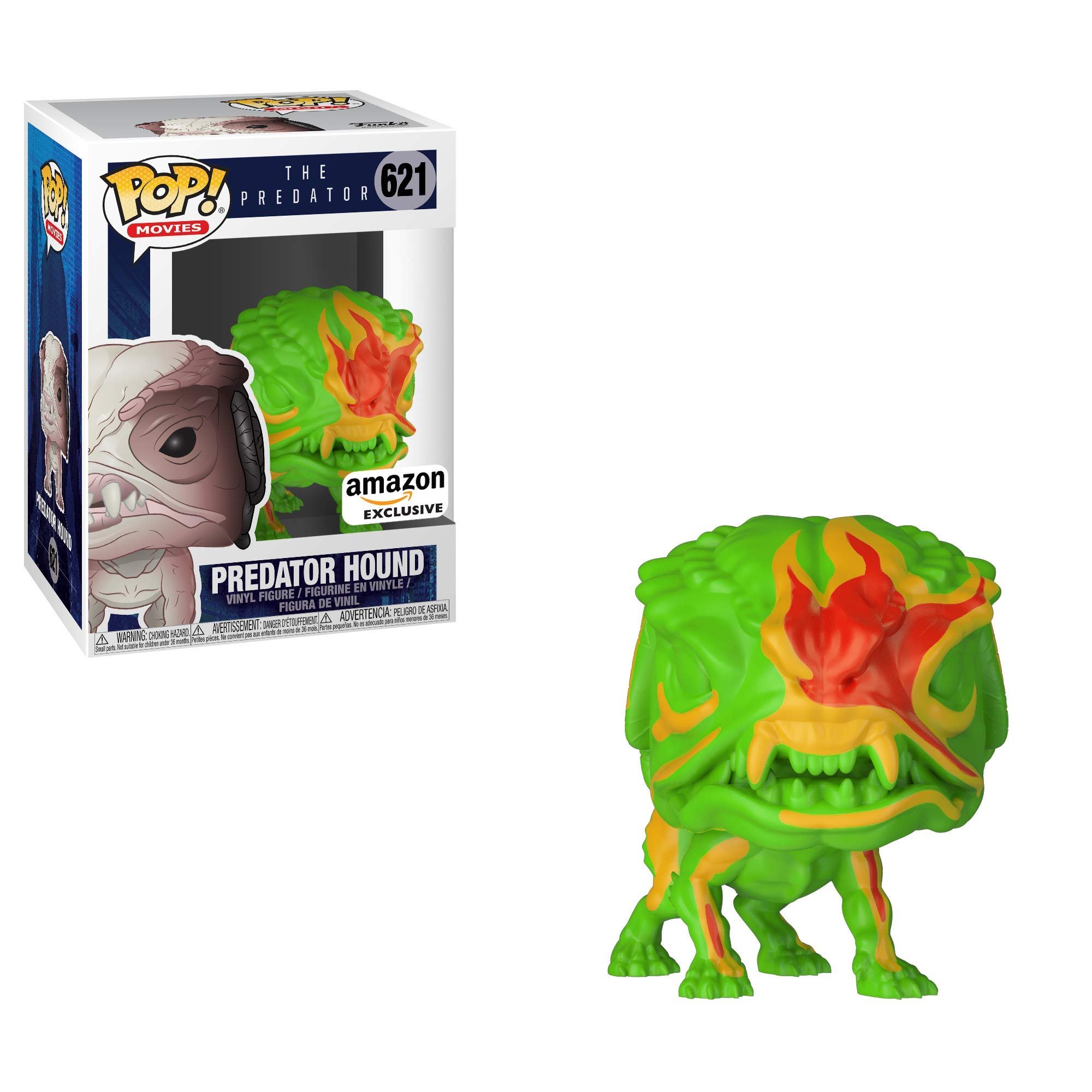 Funko Pop! Movies Heat Vision Predator Hound Amazon Exclusive Collectible Figure, Multicolor by Funko (Image #2)