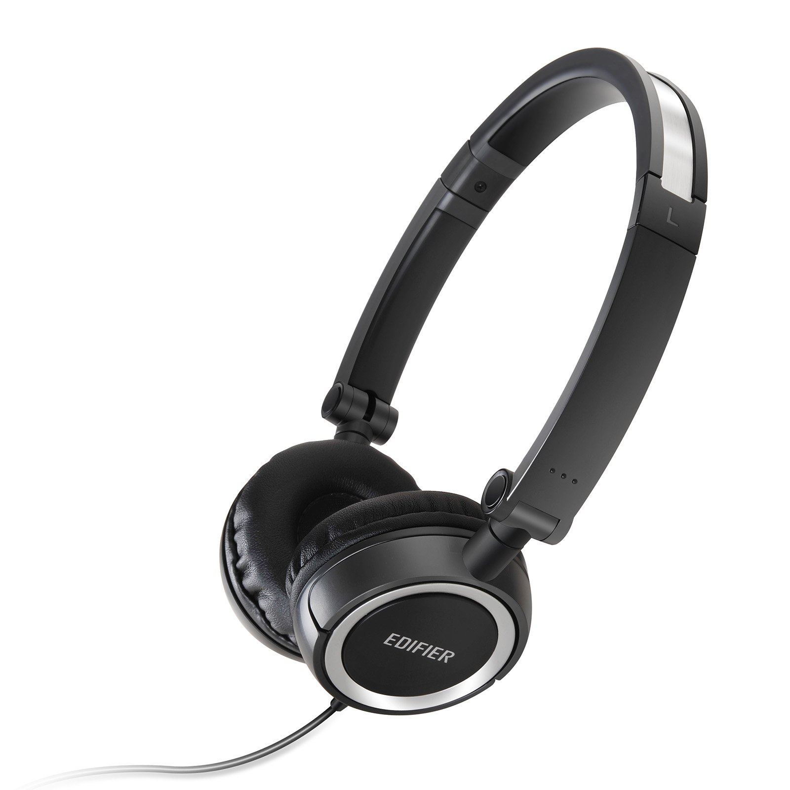 Edifier H650 Headphones - Hi-Fi On-Ear Foldable Noise-Isolating Stereo Headphone, Ultralight and Tri-fold Portable - Black by Edifier