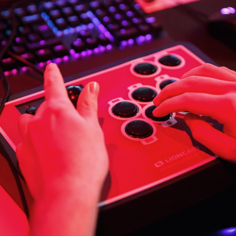 Palanca de Mando Controlador con Botones programables