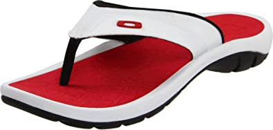 2b30ebf67c Oakley Supercoil 4 Sandals White Red
