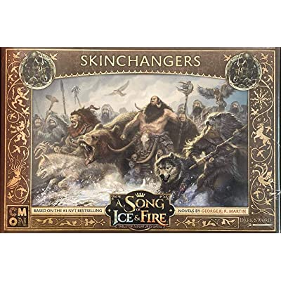 Fantasy Flight Games A Song of Ice and Fire: Free Folk Skinchangers: Toys & Games