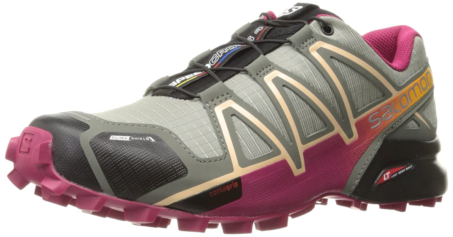 Salomon Women's Speedcross 4 CS W Trail Runner B01HD2NLNA 12 B(M) US|Shadow