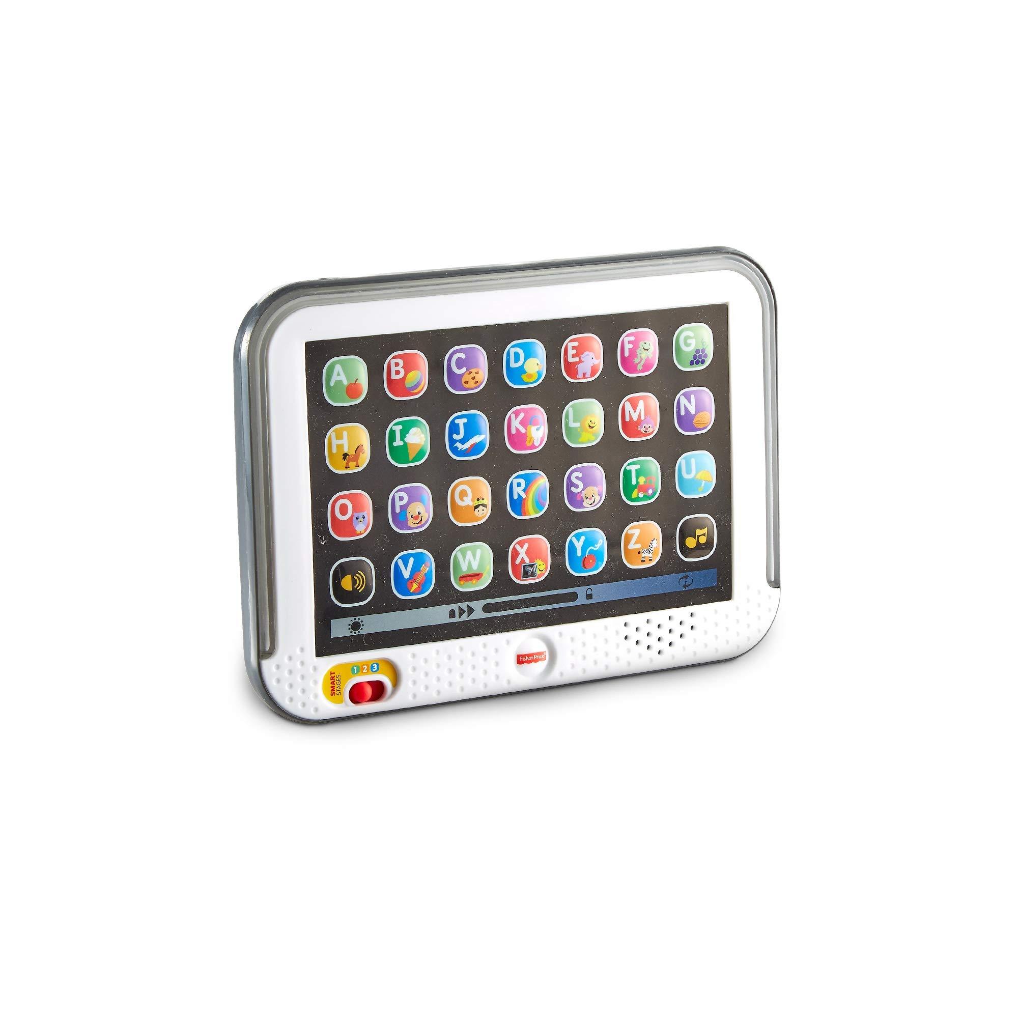 Fisher-Price Mi primera tablet, juguete electrónico bebé +1 año (Mattel CDG61
