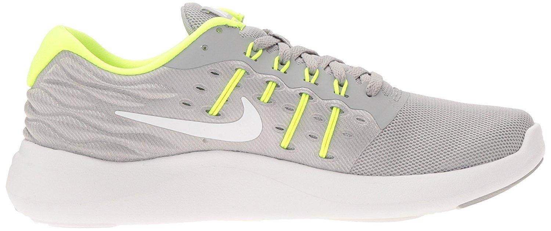NIKE Women's Lunarstelos Running Shoe B01H5YLRU0 9.5 B(M) US Wolf Grey/White-volt