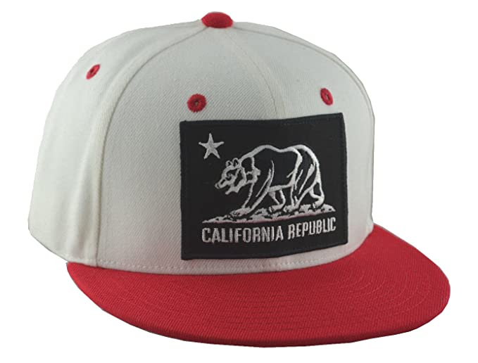 new style c2aa8 69245 ... netherlands cuglog california bear snapback white red 8eb70 39371