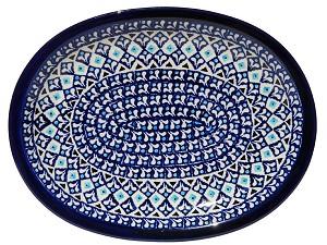 Polish Pottery Medium Platter
