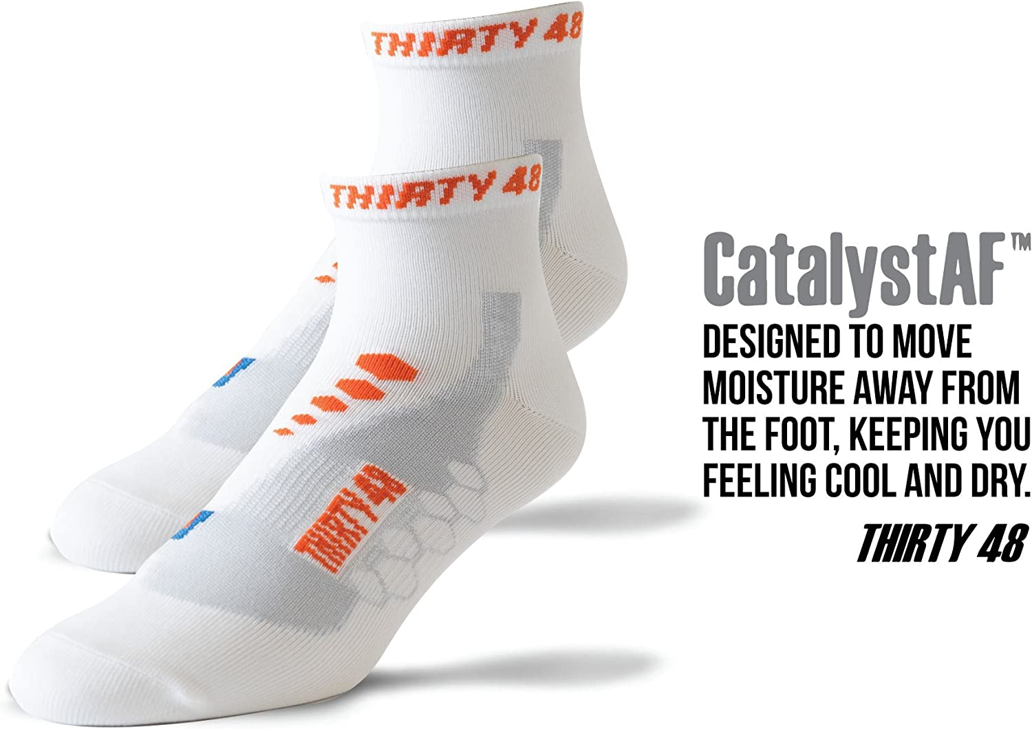 Thirty 48 Cycling Socks for Men and Women Unisex Breathable Sport Socks