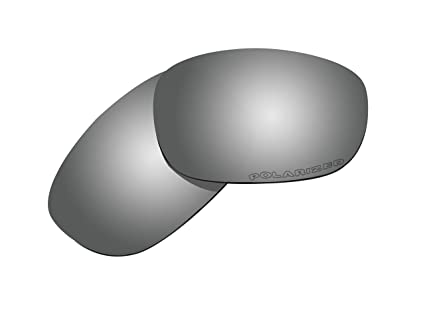 BVANQ Lentes polarizadas de repuesto para gafas de sol Oakley Discreet, color negro
