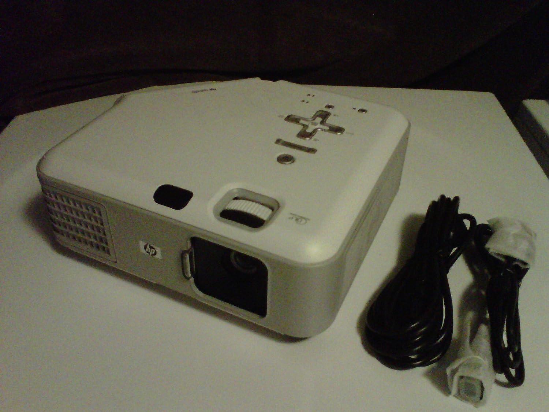 HP vp6320 Digital Multimedia DLP Projector w/DVI, VGA, USB & Speaker - 1024x768, 2000 Lumens - 30