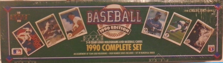 Amazon com : Upperdeck 1990 MLB Baseball Card Collectors