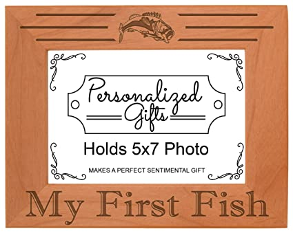 Amazon Thiswear Fish Photo Frame My First Fish Picture Frame