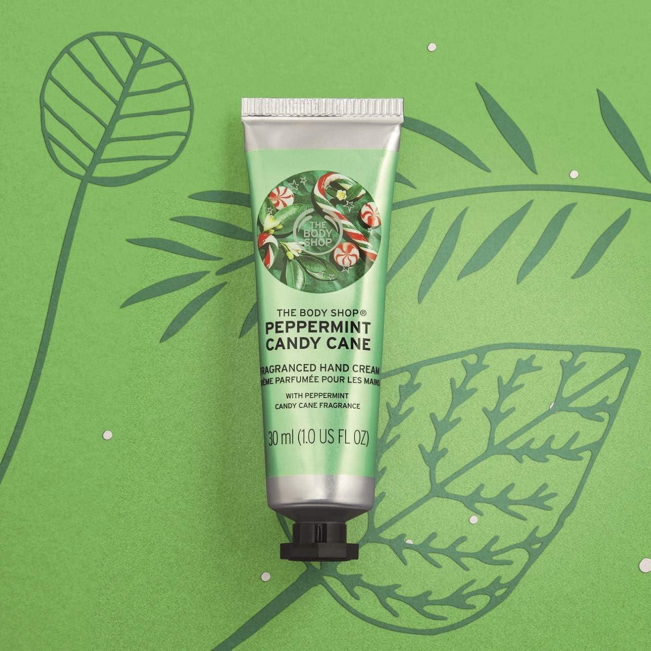 The Body Shop Peppermint Candy Cane Hand Cream, 1 Fl Oz