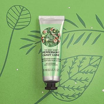 Amazon Com The Body Shop Peppermint Candy Cane Hand Cream 1 Fl Oz