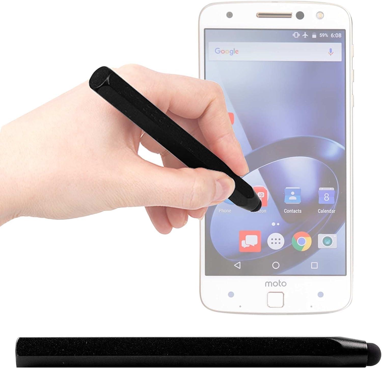 DURAGADGET Lápiz Stylus Negro para Smartphone Lenovo Moto Z/Moto Z ...