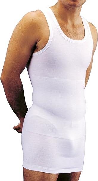 Form 1022 - Camiseta de Tirantes Interior térmica modeladora Hombre sin Mangas de algodón con Faja Reductora incorporada: Amazon.es: Ropa y accesorios