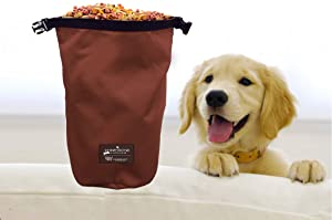 The Humane Society Nylon Self Folding Travel Food Bag