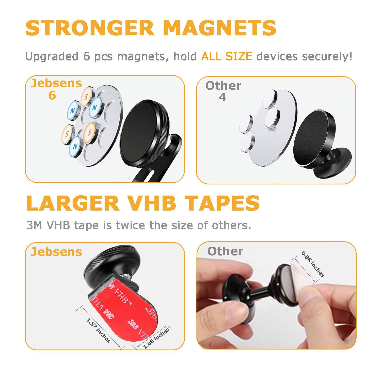 Amazon.com: Magnético Soporte de teléfono para coche ...
