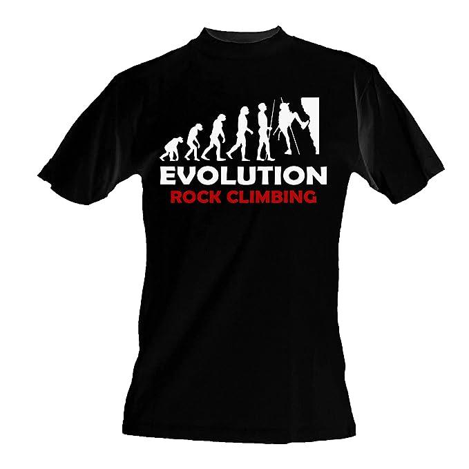 Maglietta it Uomo Shirt TopAmazon Da T Arrampicata Evoluzione A5RqL3j4c