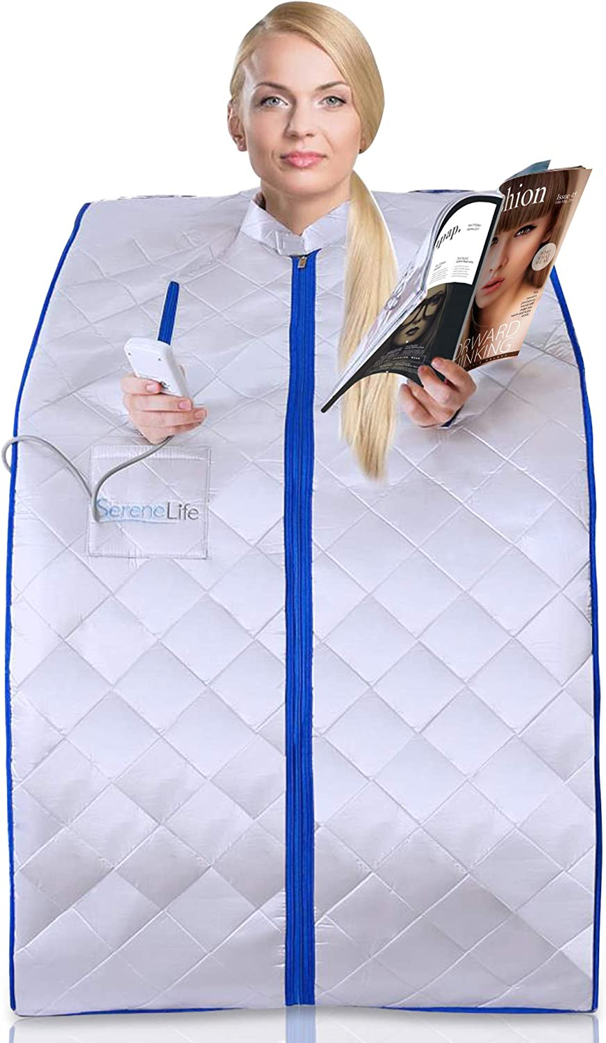 Best Infrared Sauna: SereneLife Portable Home Spa