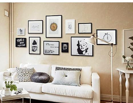 Adesivo da parete di corea idee di soggiorno legno massiccio muro
