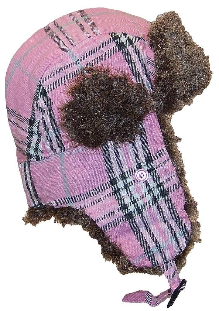 e745db34705 Best Winter Hats Adult Plaid Russian Trooper W Soft Faux Fur Cap ...