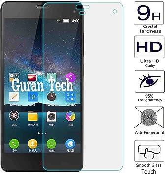 Guran® Protector de Pantalla Vidrio Cristal Templado Para ZTE Nubia Z7 Mini Smartphone Film: Amazon.es: Electrónica