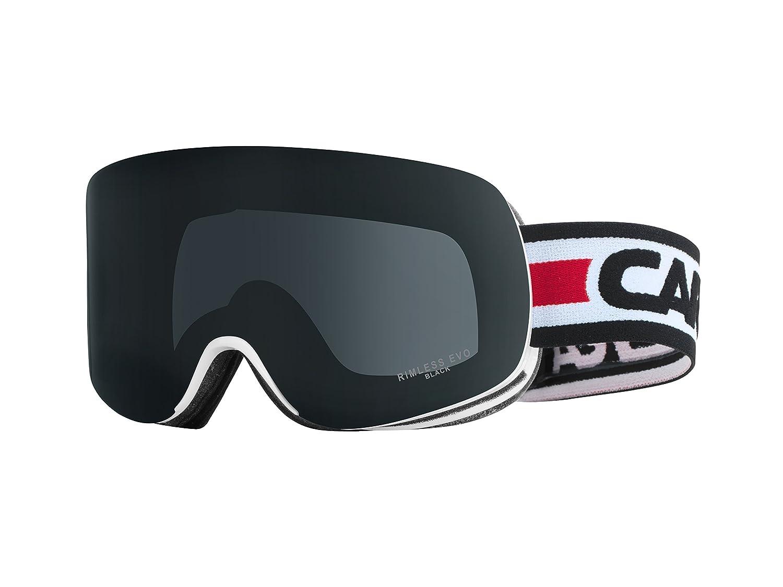 8e6c874a631e Carrera Rimless Evo Goggles, White Blackout AF Shiny: Amazon.co.uk: Sports  & Outdoors