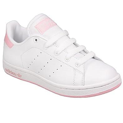 innovative design 33c4d fbb8d adidas Girls Originals Stan Smith Junior Trainer in White - UK 5.5