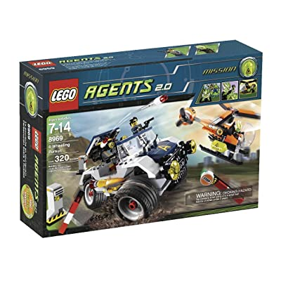 LEGO Agents 4-Wheeling Pursuit (8969): Toys & Games