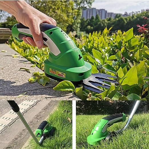 W.KING Jardín Engranaje setos sin Cable Tijeras de Peso Ligero portátil de 3,6 V con 120 mm de Corte de la Hoja, Shearing de podas y raleos: Amazon.es: Hogar