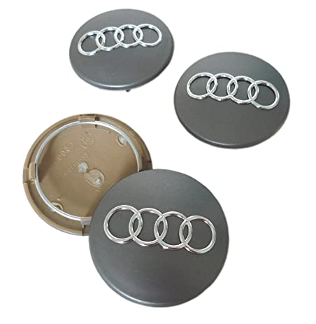 Amazoncom Audi A A A Q S S S Hubcap Wheel Center Caps - Audi wheel center caps
