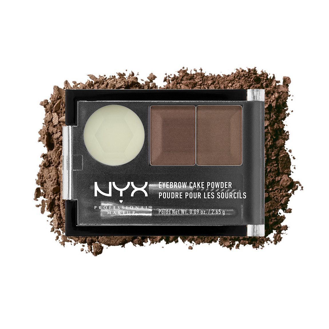 Nyx Eyebrow Cake Powder Auburnred 009 Oz