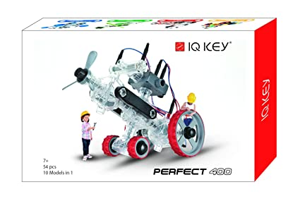 IQ KEY Perfect 400 Stem Educational Toy Kits, White