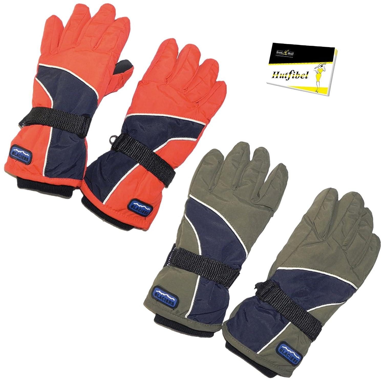 Kinderhandschuhe Winterhandschuhe mit Thermolite Futter (PT-5510) - inkl. EveryHead-Hutfibel