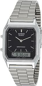 Casio AQ-230A-1DMQYEF Mens Combi Bracelet Watch