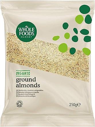 Whole Foods Market - Almendra molida ecológica, 250 g: Amazon.es: Alimentación y bebidas
