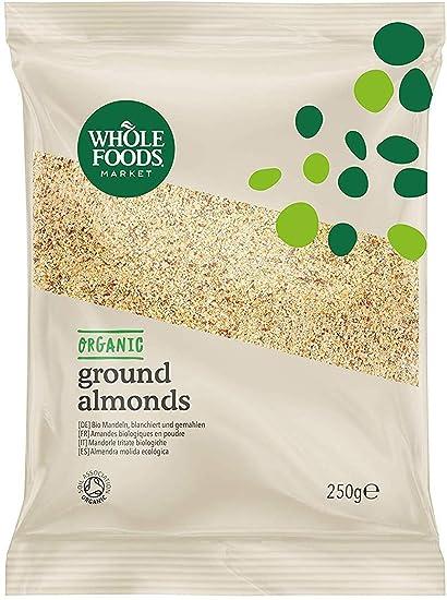 Whole Foods Market - Almendra molida ecológica, 250 g: Amazon.es ...