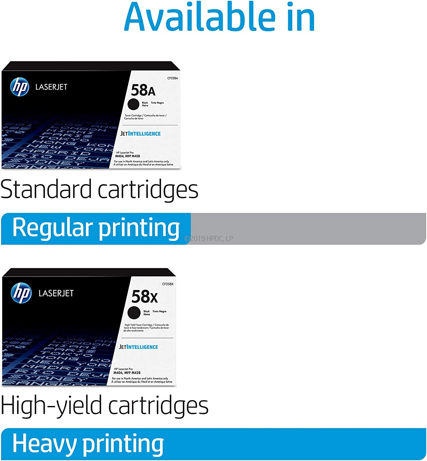 HP 58A   CF258A   Toner Cartridge   Black: Office Products