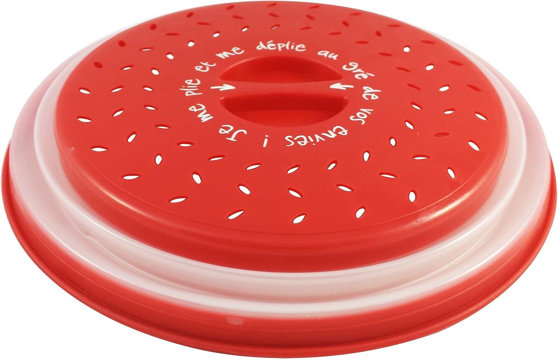 Compra Colonel cook- Campana de cocina para microondas-sin BPA-GARANTÍA DE POR VIDA-envase para micro-ondas 3 en 1-Campana para microondas retráctil, anti-vapor y con función colador en Amazon.es