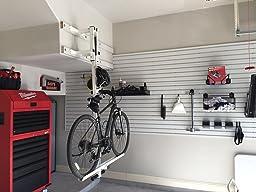 Amazon Com Flat Bike Lift The New Overhead Rack To