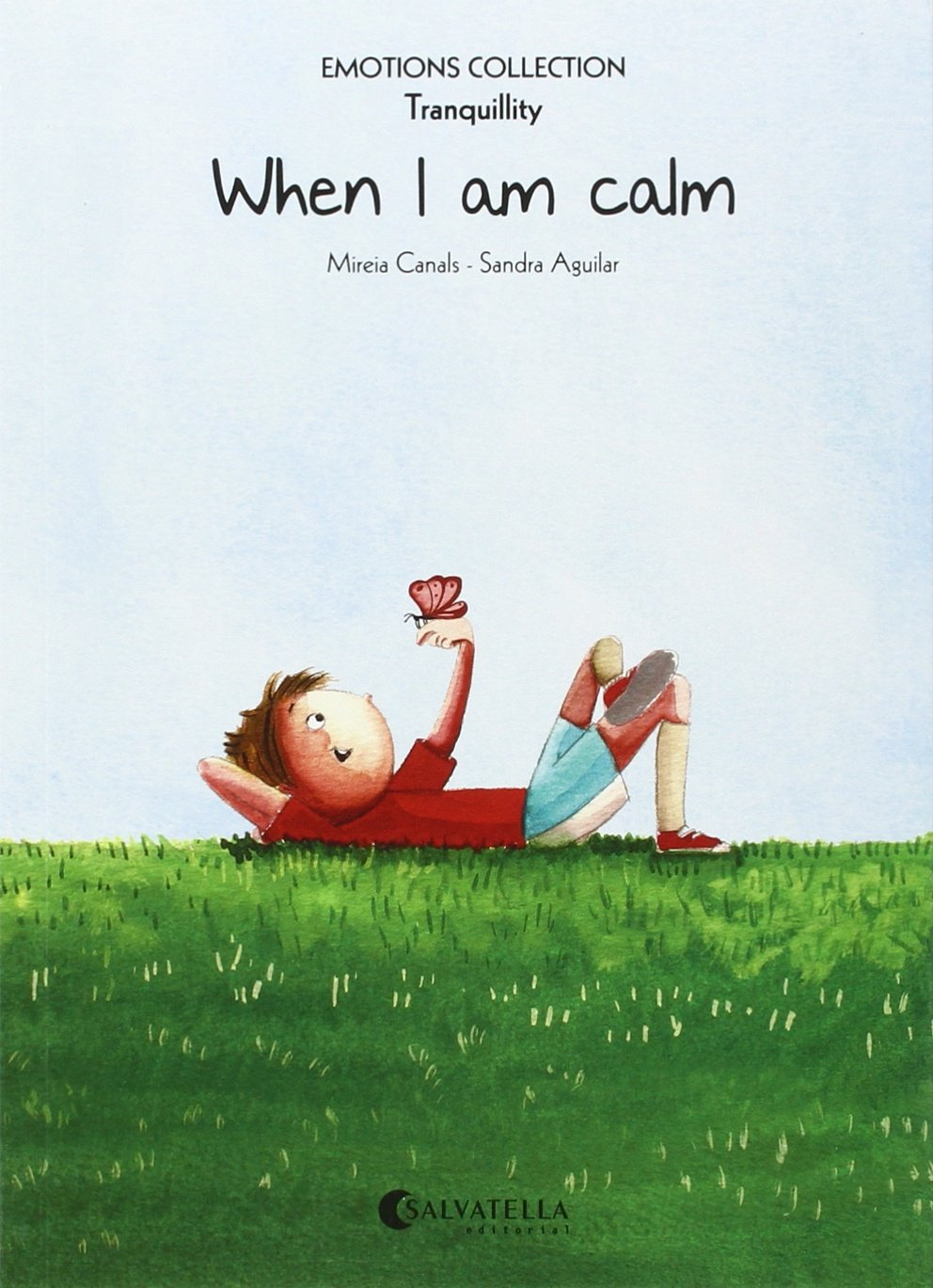 When I am calm Paperback – 2015